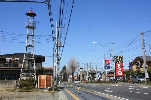 鶴ヶ岡の火の見櫓
