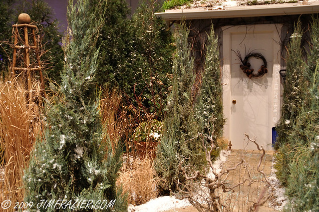 Winter Scene at the Chicago Flower and Garden Show