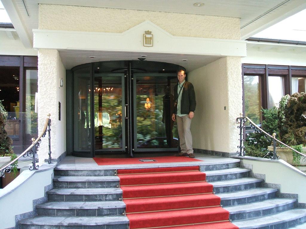 Revolving Door, Palace Hotel, Gstaad