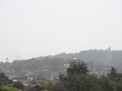 Mountain Ridge Above Freetown (rustinpc) Tags: sierraleone freetown