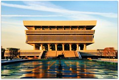 New York State Museum (Ronaldo F Cabuhat) Tags: newyork building colors museum architecture naturallight symmetry albanyny albanynewyork topshots newyorkstatemuseum canoneosdigitalrebelxti cabuhat