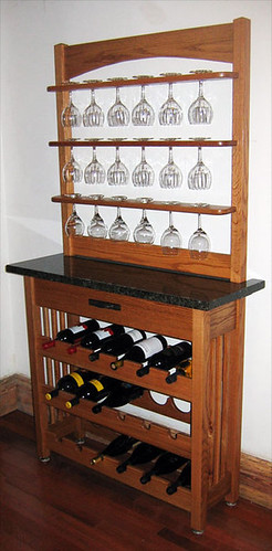 Mission Wine Rack