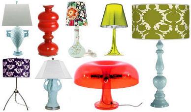 Table Lamp natural ornaments, Table lamp, Lamp Natural