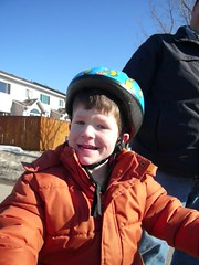 First Day Riding a Bike (DNAMichaud) Tags: bicycle ride first geoffrey