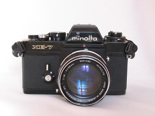 Minolta XE-7 Front