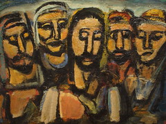 Rouault's Christ And The Apostles