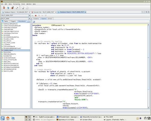 Epictetus 0 3 3 Beta: Database Desktop Manager on the
