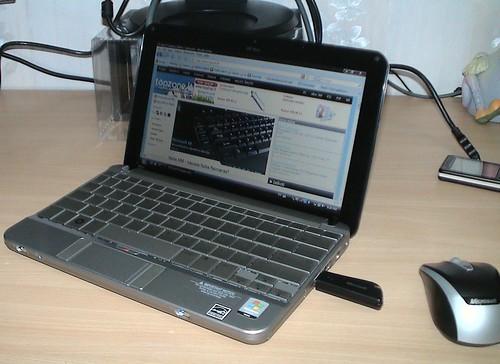 HP Mini 2140   10,1 colio mažylis