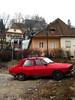 Dacia de Culoare Roşu