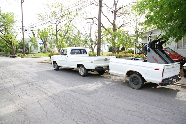 ford 1971 with f100 dent trailer 1979 bump