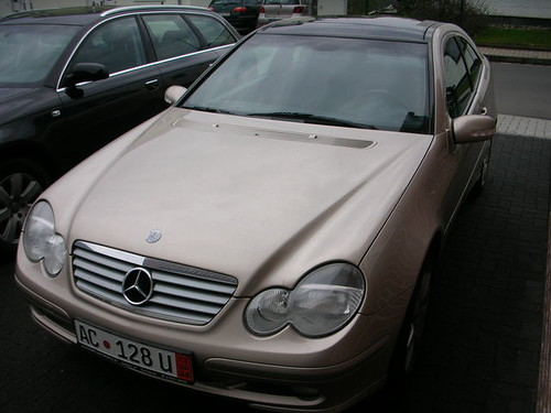 Mercedes Benz C230 Kompressor Sport Coupé - Front