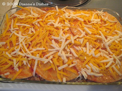 Mexican Casserole: Ready to Bake