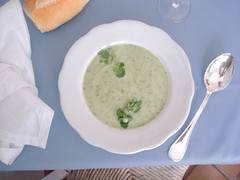 potage cressonnière