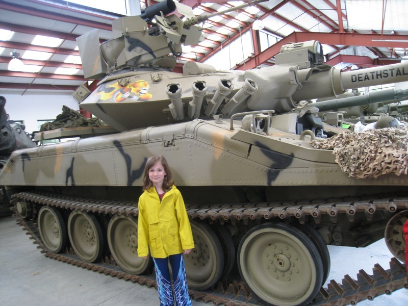 Zelly & the Tank Used in Mythbusters