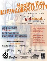 Healthy Kids - Healthy Columbia postcard