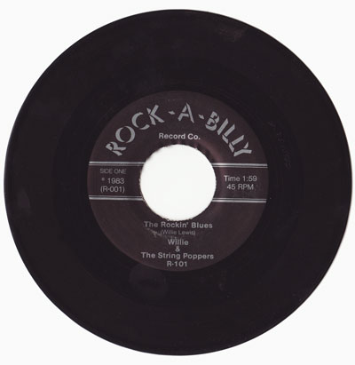 Rock-A-Billy Records R-101!