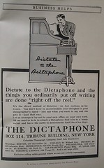 Dictaphone advertisement