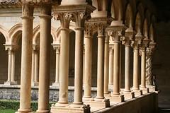 Claustro románico (San Andrés de Arroyo) Tags: monastery monasterio monastere kloster monastero mosteiro claustro monestir cister capitel klaster ojeda klasztor sanandrésdearroyo