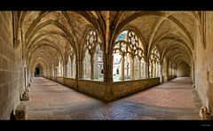 Claustro del Monasterio de Santa Mara de Iranzu, Abrzuza (Navarra) (Josepargil) Tags: aplusphoto