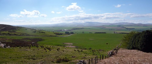 South-West view from Dancing Green Hill