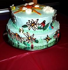Heather's retirement cake