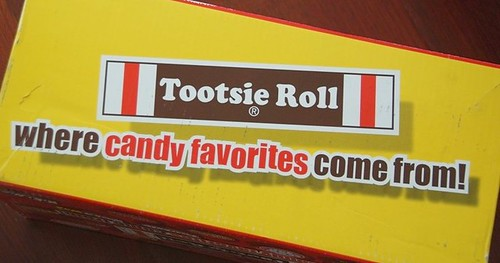 tootsie roll candy box