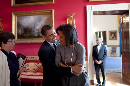 Barack and Michele