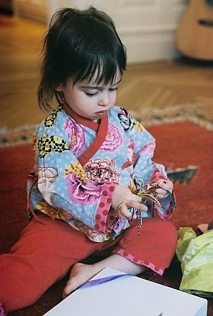 KIMONO ONESIE PATTERN | Download Free Patterns