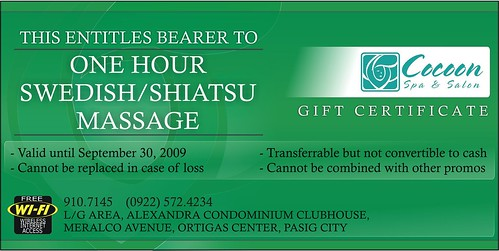 Cocoon GC Free Massage