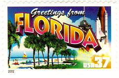 USA - Stamp 2002 Florida 37 cents