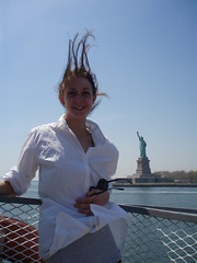 Hair up high (danique, danique) Tags: trip travel family vacation sky food sun newyork west beach church coffee face sunglasses breakfast brooklyn dinner america shopping subway fun coneyisland photography flying wilma village metro jan centralpark flag 5thavenue