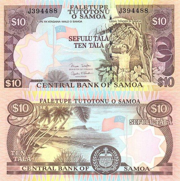 10 tala Samoa 2007