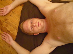 tumble (redjoe) Tags: new york city man hot me face self myself floor upsidedown ground down redhead upside redjoe joehorvath