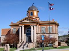 Weston County Courthouse (Newcastle, Wyoming) (courthouselover) Tags: newcastle wyoming courthouses wy westoncounty countycourthouses usccwyweston carandall