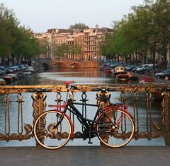Keizersgracht sunset by drooderfiets