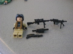 Pick a weapon! For him too use! (Sl♣sher_Of_Lego) Tags: weapon what he uses chosse