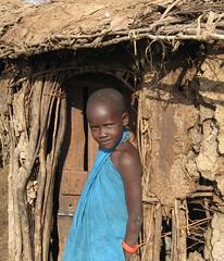 Masai Mara Child (Grace's clicks) Tags: children kenya turquoise masaimara anawesomeshot
