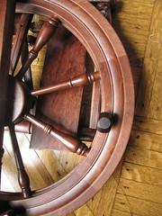 Kromski Sonata folded (knithound brooklyn) Tags: portable spinning birthdaygift spinningwheel soawesome kromskisonata