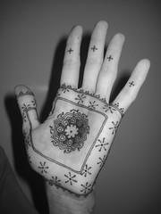 (Anoushka Irukandji) Tags: hand henna mehndi pasteon