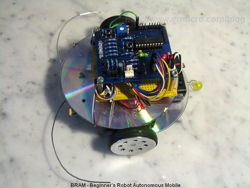 Building BRAM your first Autonomous Mobile Robot using