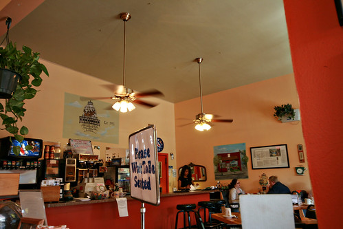 Inside Capital View cafe