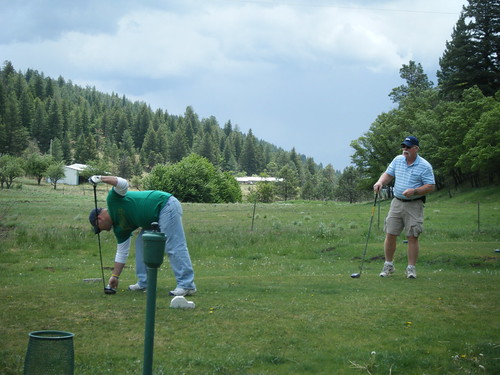 Golf @ Ponderosa Pines in Cloudcroft, NM