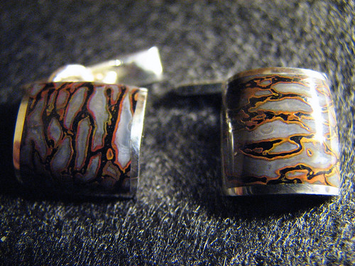 Cast gembone Cuff-links