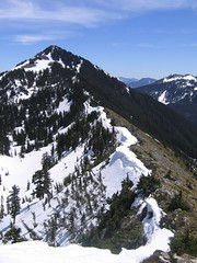 Banana Ridge and Mt Defiance