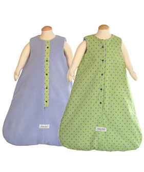 Reversible Snooze Sack - Cricket/Mauve