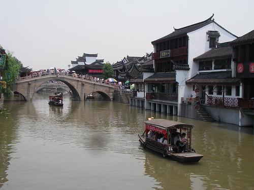 Qibao canal town