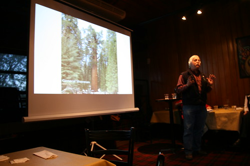 Tom Noland and the General Sherman tree story, one of the highlights of Ignite Sault 1