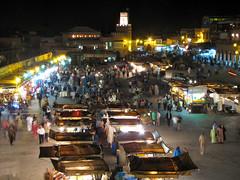 Djemaa el Fna (jo.schz) Tags: night morocco marrakech djemaaelfna