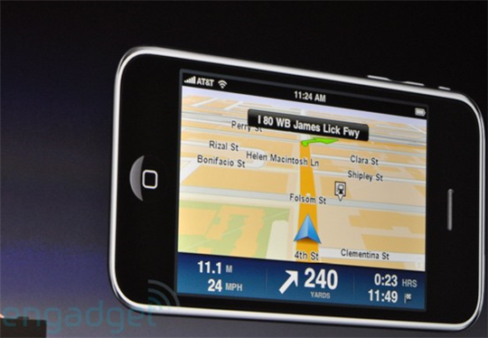 tomtom sur iphone