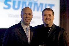 Mayor Corey Booker & Jim Kukral
